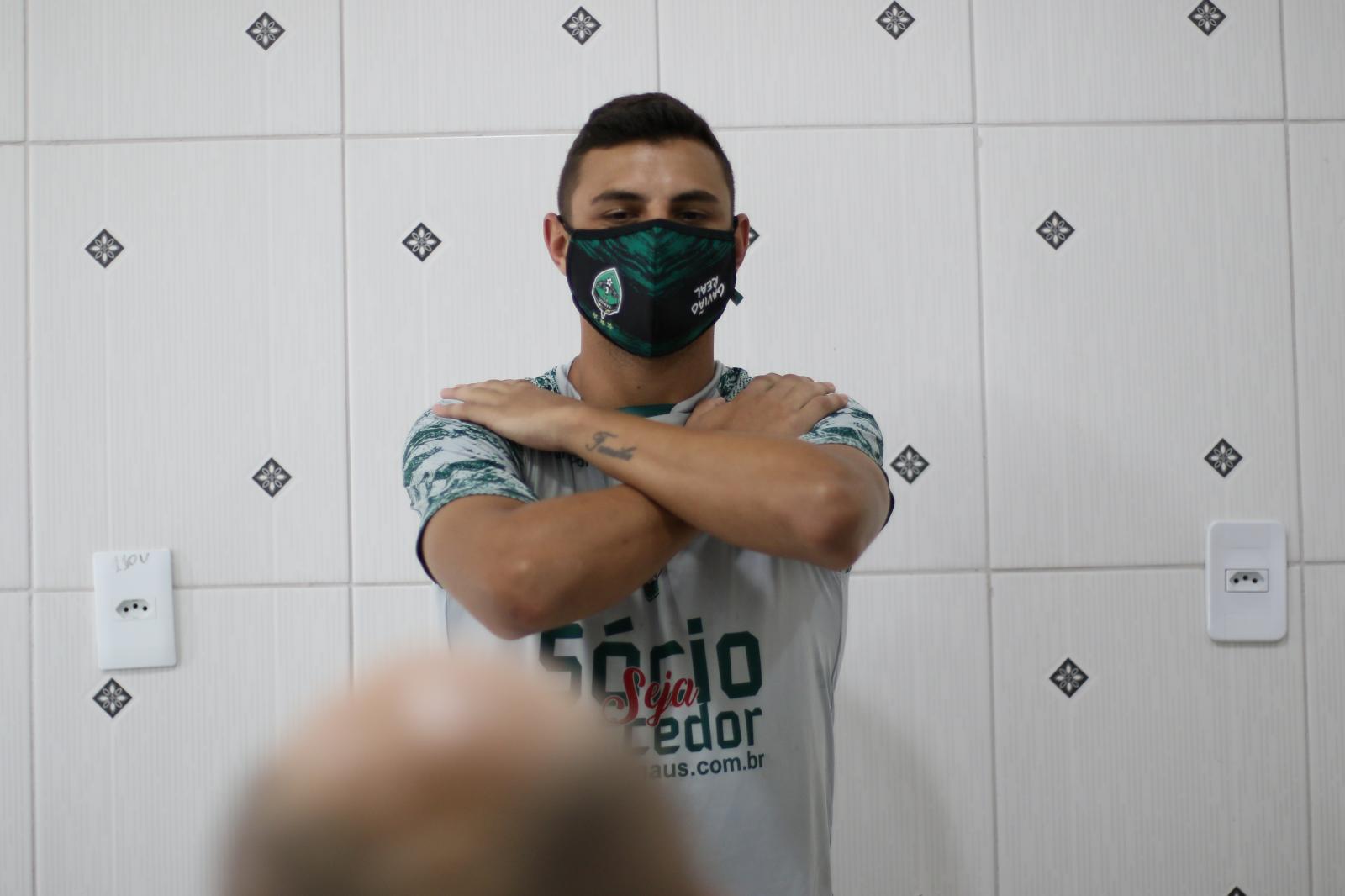 Manaus Futebol Clube investe em tecnologia de ponta para prevenir lesões