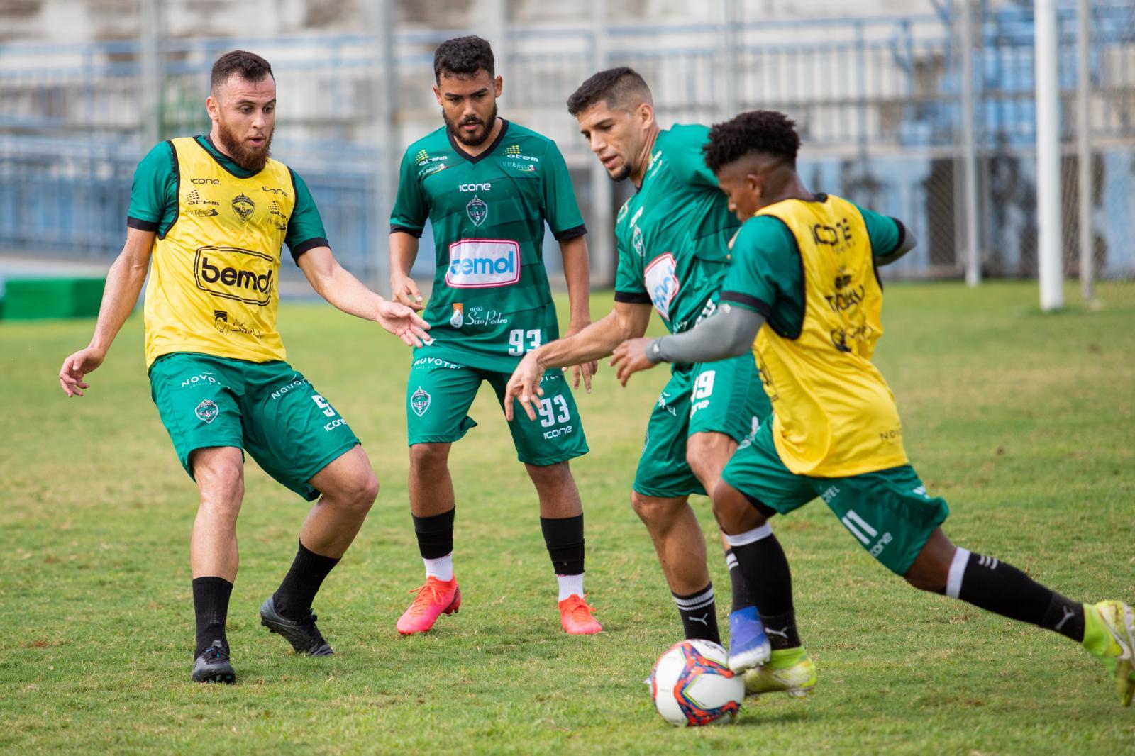 Manaus FC finaliza penúltimo dia de preparação visando o Ferroviário